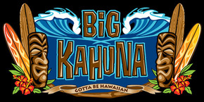 "Hawaiian Beach Towel Big Kahuna Beach 30""x60"""